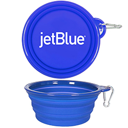 7'' COLLAPSIBLE TRAVEL PET BOWL