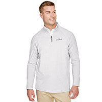 MEN'S CLUBHOUSE MICRO-STRIPE 1/4 ZIP