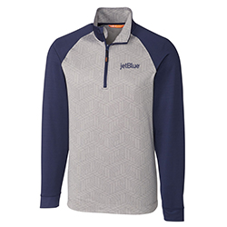MEN'S CBUK ALL STAR PRINTED HALF ZIP