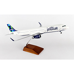 JETBLUE A321 1:100 SCALE PRISM  MODEL PLANE